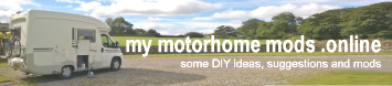 my motorhome mods for ideas and diy improvements